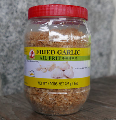 Thai Fried Garlic