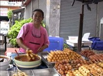 Thai Meatball Vendor