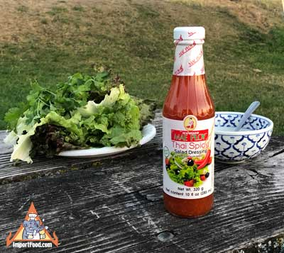 Thai Spicy Salad Dressing, Mae Ploy
