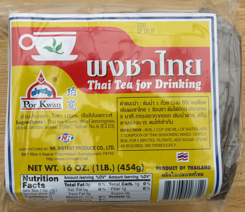 Thai Ice Tea Mix, 16 oz
