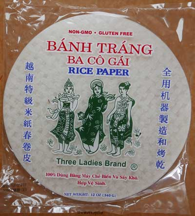 Thai Spring Roll Wrappers, 22 cm