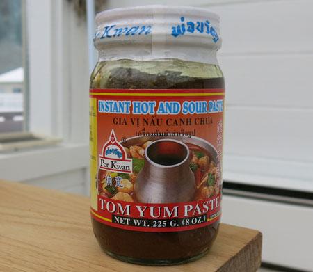 Instant Tom Yum Paste