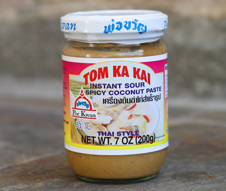Tom Kha Paste - Por Kwan Brand