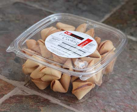 Fortune Cookies, Rose Brand, Tsue Chong Seattle