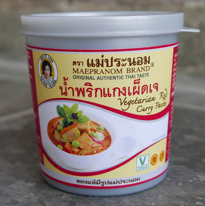 Thai Vegetarian Red Curry Paste