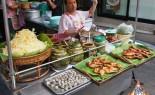Thai Street Vendor offers fresh Som Tum Papaya Salad, Gai Yang Barbeque Chicken, and Clams