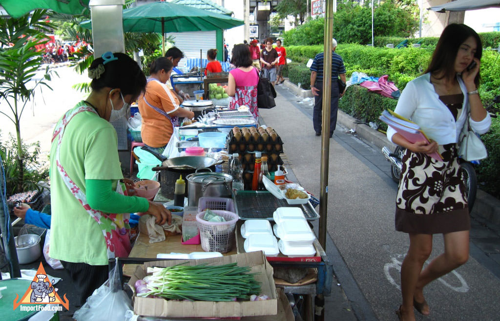Bangkok is like walking through a giant colorful public kitchen