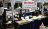 Street vendor offering Hoi Tod Fried Mussels