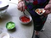 Shrimp Cakes Dipping Sauce, 'Namjim Tod Mun'