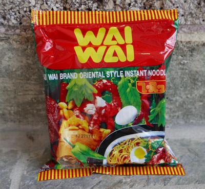 Instant Thai Noodles, Wai Wai, Classic Oriental