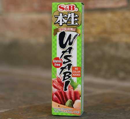 Wasabi, prepared, 1.52 oz