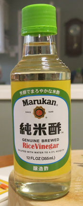White Rice Vinegar - Marukan