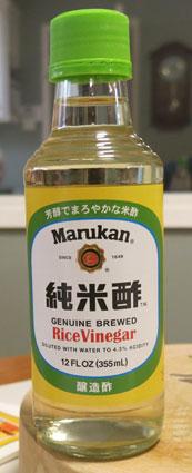 White Rice Vinegar - Marukan
