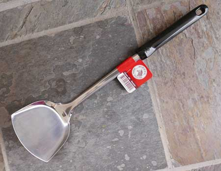 Stainless Steel Wok Turner, 16