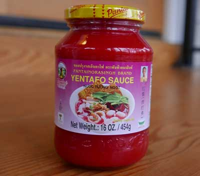 Thai Yentafo Sauce, 16 oz jar