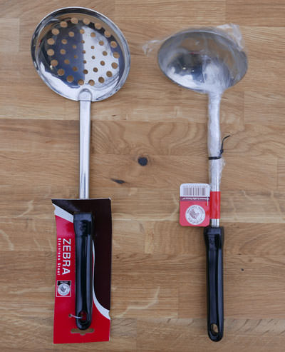 Set of Two Stainless Tools - Zebra Thailand